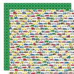 Bella Blvd - Mr. Boy Collection - 12 x 12 Double Sided Paper - Traffic Jam