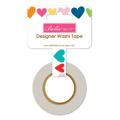 Bella Blvd - Home Sweet Home Collection - Washi Tape - Oh My Heart