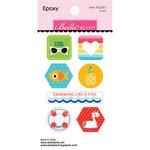 Bella Blvd - Splash Zone Collection - Epoxy Stickers - Icons