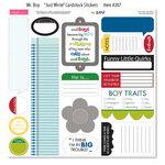 Bella Blvd - Mr. Boy Collection - 12 x 12 Cardstock Stickers - Just Write