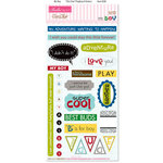 Bella Blvd - Mr. Boy Collection - Ciao Chip - Self Adhesive Chipboard - Chit Chat