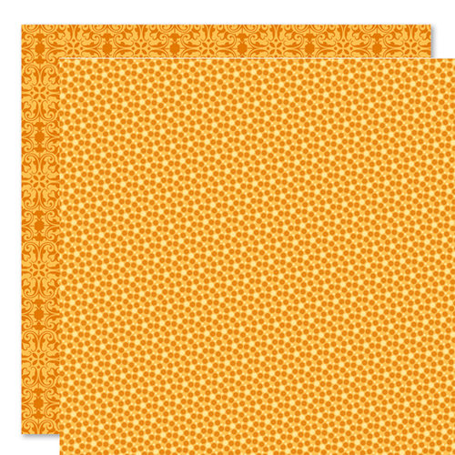 Bella Blvd - Sophisticates Collection - 12 x 12 Double Sided Paper - Sprinkles and Lace - Apricot