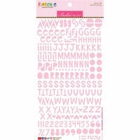 Bella Blvd - Legacy Collection - Florence Alphabet Stickers - Cotton Candy
