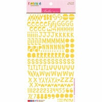 Bella Blvd - Legacy Collection - Florence Alphabet Stickers - Bell Pepper
