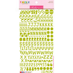 Bella Blvd - Legacy Collection - Florence Alphabet Stickers - Pickle Juice