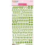 Bella Blvd - Legacy Collection - Florence Alphabet Stickers - Guacamole