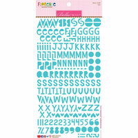 Bella Blvd - Legacy Collection - Florence Alphabet Stickers - Ice