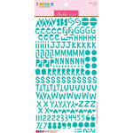 Bella Blvd - Legacy Collection - Florence Alphabet Stickers - Gulf