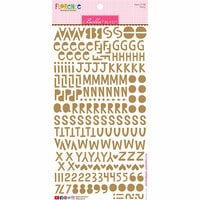 Bella Blvd - Legacy Collection - Florence Alphabet Stickers - Pony