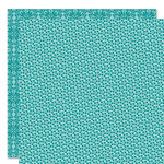 Bella Blvd - Sophisticates Collection - 12 x 12 Double Sided Paper - Sprinkles and Lace - Chlorine