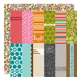 Bella Blvd - Sophisticates Collection - 12 x 12 Double Sided Paper - Tall Tags