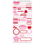 Bella Blvd - Sophisticates Collection - Ciao Chip - Self Adhesive Chipboard - Essentials - Peep and McIntosh