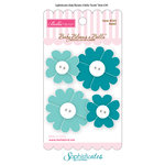 Bella Blvd - Sophisticates Collection - Baby Blooms a Bella - Cotton Flowers - Azzini
