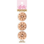 Bella Blvd - Buttons - Snowflakes