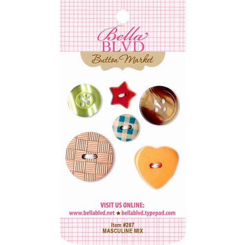 Bella Blvd - Buttons - Masculine Mix