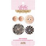 Bella Blvd - Buttons - Wood Mix