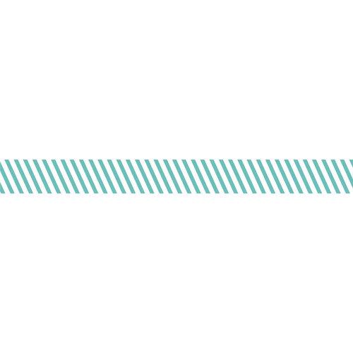 Bella Blvd - Decorative Tape - Teal Stripe