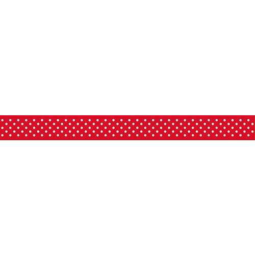Bella Blvd - Decorative Tape - Red Dot