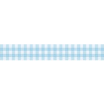 Bella Blvd - Decorative Tape - Blue Gingham