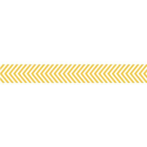 Bella Blvd - Decorative Tape - Yellow Chevron