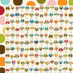 Bella Blvd - Finally Fall Collection - 12 x 12 Double Sided Paper - You're a Hoot