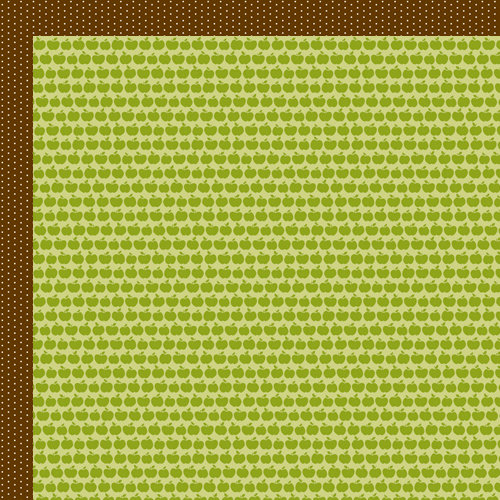 Bella Blvd - Finally Fall Collection - 12 x 12 Double Sided Paper - Apple Holler