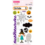 Bella Blvd - Too Cute to Spook Collection - Halloween - Ciao Chip - Self Adhesive Chipboard - Icons