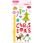 Bella Blvd - Christmas Wishes Collection - Ciao Chip - Self Adhesive Chipboard - Icons