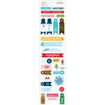 Bella Blvd - Winter Wonder Collection - Cardstock Stickers - Miniatures