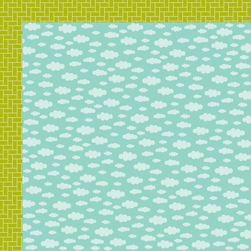 Bella Blvd - Spring Flings and Easter Things Collection - 12 x 12 Double Sided Paper - A Tisket A Tasket
