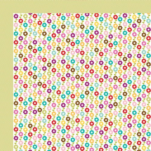 Bella Blvd - Spring Flings and Easter Things Collection - 12 x 12 Double Sided Paper - Mom's Bouquet