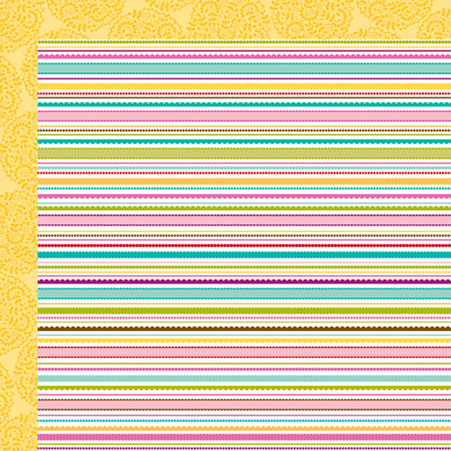 Bella Blvd - Spring Flings and Easter Things Collection - 12 x 12 Double Sided Paper - Sunny Sunday