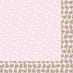 Bella Blvd - Baby Girl Collection - 12 x 12 Double Sided Paper - Sweet Dreams