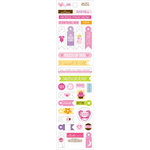 Bella Blvd - Baby Girl Collection - Cardstock Stickers - Miniatures