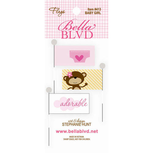 Bella Blvd - Baby Girl Collection - Flags