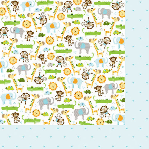 Bella Blvd - Baby Boy Collection - 12 x 12 Double Sided Paper - It's a Boy
