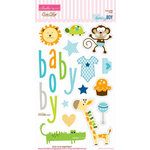 Bella Blvd - Baby Boy Collection - Ciao Chip - Self Adhesive Chipboard - Icons
