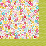 Bella Blvd - Sunshine and Happiness Collection - 12 x 12 Double Sided Paper - Petal Power