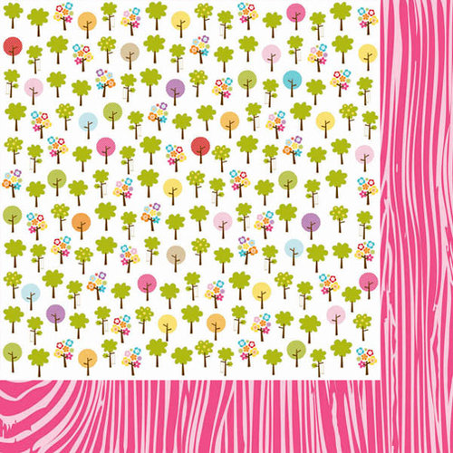 Bella Blvd - Sunshine and Happiness Collection - 12 x 12 Double Sided Paper - Play Date
