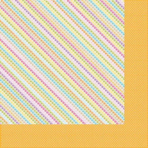 Bella Blvd - Sunshine and Happiness Collection - 12 x 12 Double Sided Paper - Popsicle Kisses