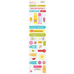 Bella Blvd - Sunshine and Happiness Collection - Cardstock Stickers - Miniatures