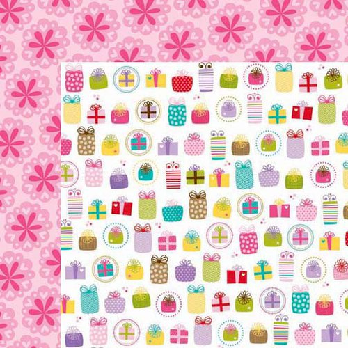 Bella Blvd - Birthday Girl Collection - 12 x 12 Double Sided Paper - Pretty as a Present