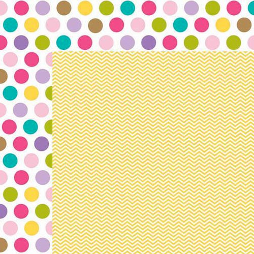 Bella Blvd - Birthday Girl Collection - 12 x 12 Double Sided Paper - Miles of Smiles