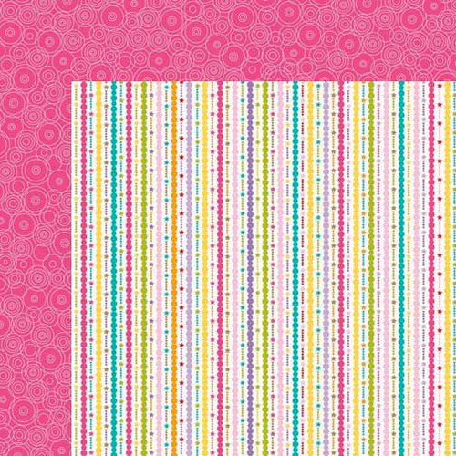Bella Blvd - Birthday Girl Collection - 12 x 12 Double Sided Paper - Celebrate