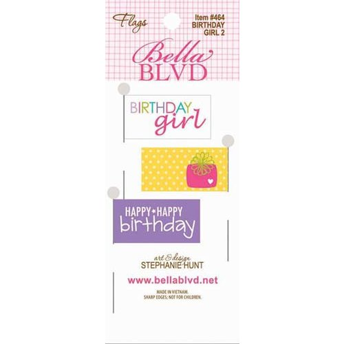 Bella Blvd - Birthday Girl Collection - Flags 2