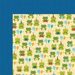 Bella Blvd - Birthday Boy Collection - 12 x 12 Double Sided Paper - Toadilly Cool