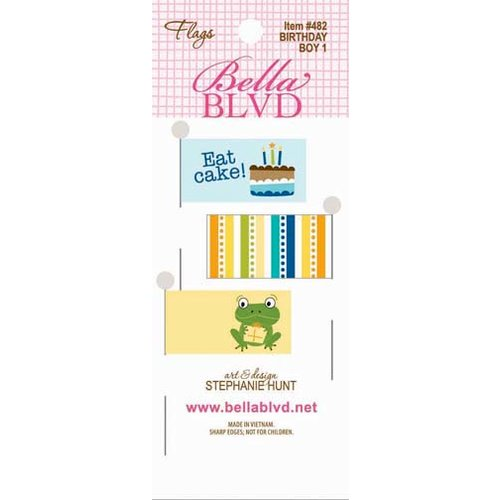 Bella Blvd - Birthday Boy Collection - Flags 1