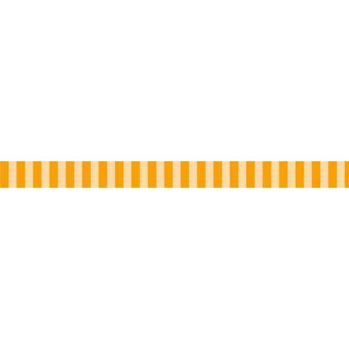 Bella Blvd - Decorative Tape - Orange Stripe