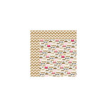 Bella Blvd - Kiss Me Collection - 12 x 12 Double Sided Paper - Mustache Love