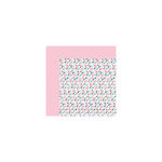 Bella Blvd - Kiss Me Collection - 12 x 12 Double Sided Paper - Flutter